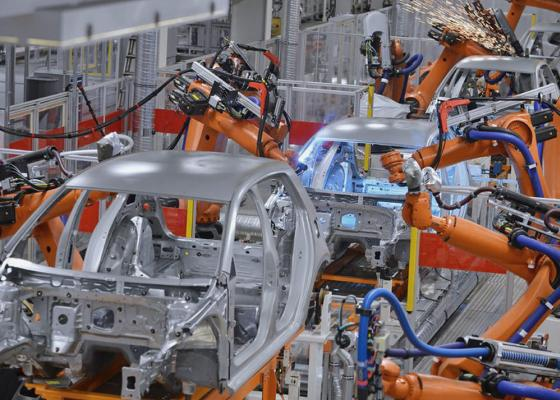 Industrial assembly line