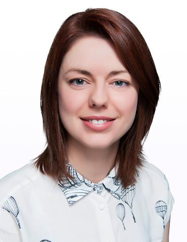 Claire O'Connell, Human Resources Lead
